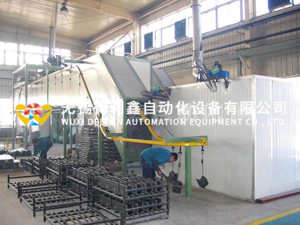 全自动磷化前处理喷粉生产线