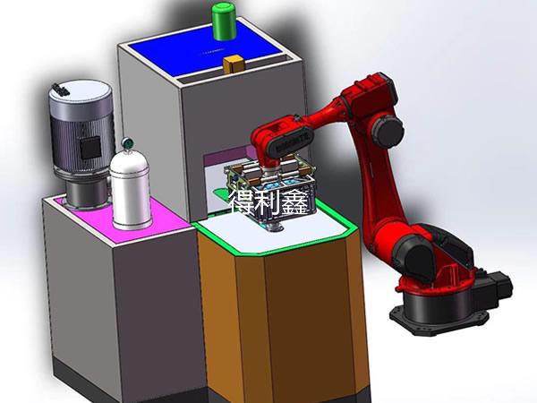 旋转式自动高压清洗烘干机2021DLX--ZDH1600B型