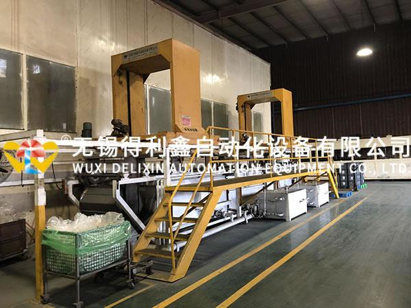 冷挤压前处理自动化磷皂化线